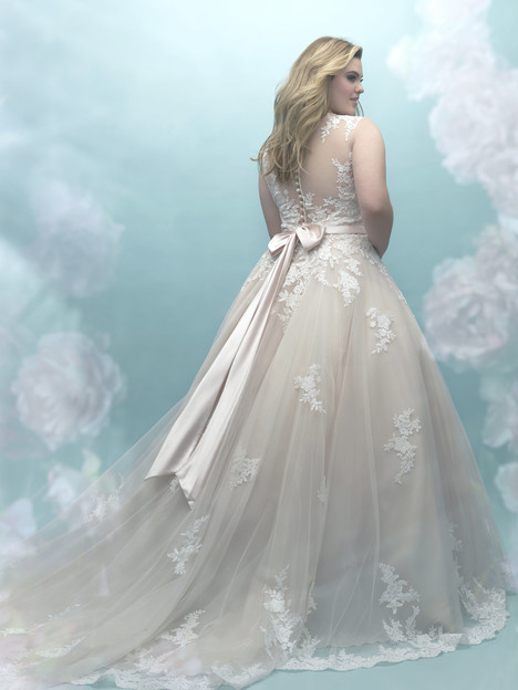 W405 (back) Wedding                                          dress by Allure Women