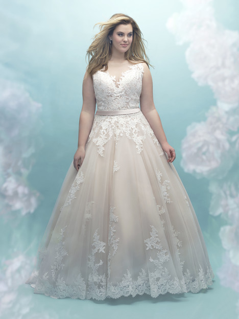 W405 Wedding                                          dress by Allure Women