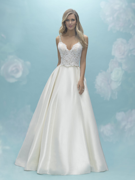 A2020 (top) + A2029 (skirt) Wedding                                          dress by Allure Bridals : Mix & Match