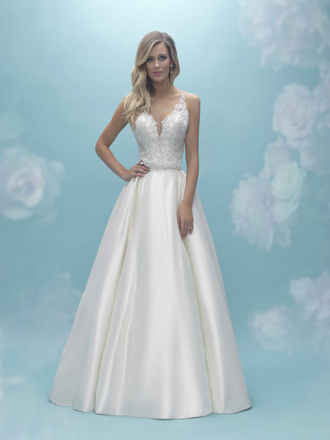 A2021 (top) + A2029 (skirt) Wedding                                          dress by Allure Bridals : Mix & Match