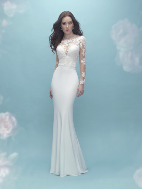 A2022 (top) + A2027 (skirt) Wedding dress by Allure Mix & Match