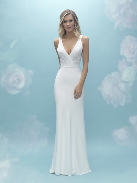 A2023 (top) + A2027 (skirt) Wedding                                          dress by Allure Mix & Match