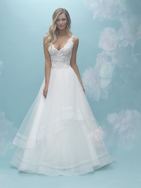 A2024 (top) + A2031 (skirt) Wedding dress by Allure Mix & Match