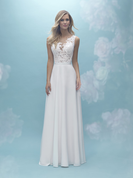 A2025 (top) + A2030 (skirt) Wedding                                          dress by Allure Bridals : Mix & Match