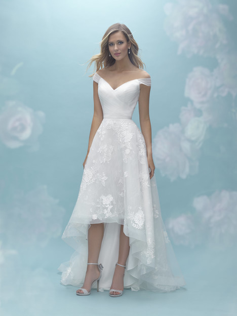 A2026 (top) + A2028 (skirt) Wedding                                          dress by Allure Mix & Match