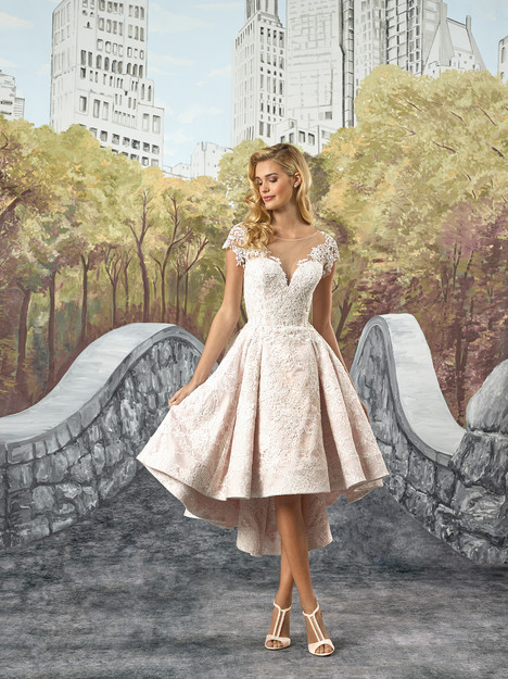 8910 Wedding                                          dress by Justin Alexander
