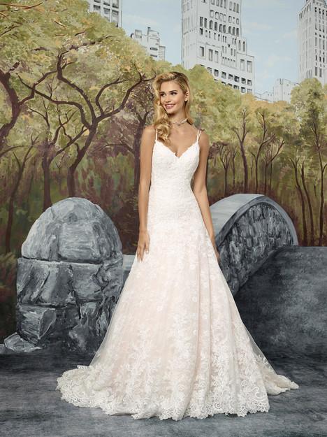 8911 Wedding                                          dress by Justin Alexander