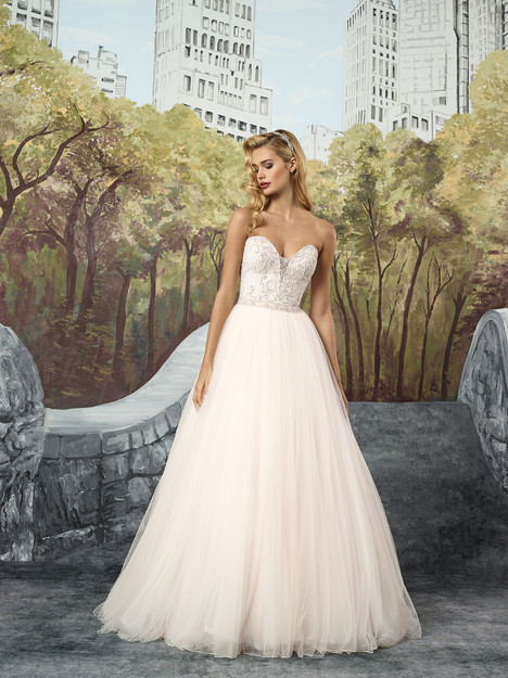 8913 Wedding                                          dress by Justin Alexander