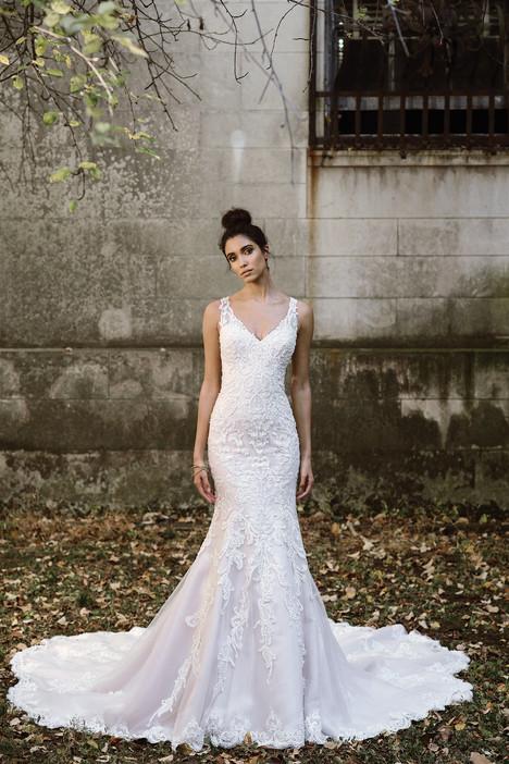 9874 Wedding                                          dress by Justin Alexander Signature