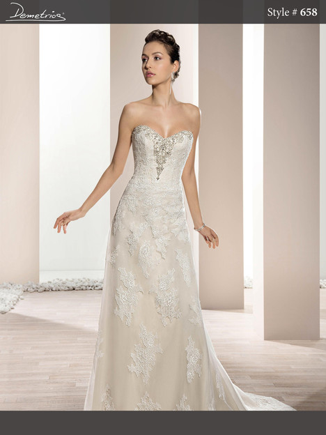 658 Wedding dress by Demetrios Bride