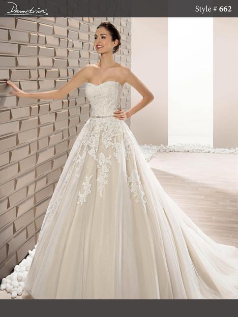 662 Wedding                                          dress by Demetrios Bride