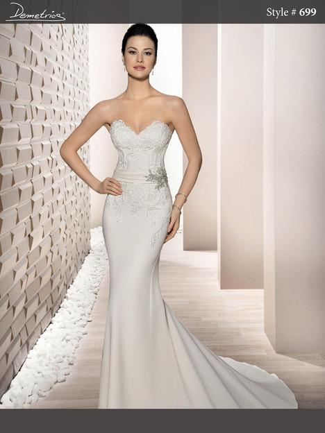 699 Wedding dress by Demetrios Bride