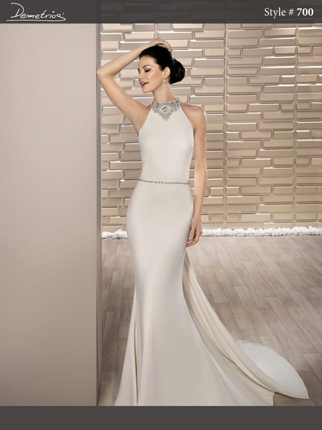 700 Wedding                                          dress by Demetrios Bride