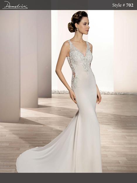 702 Wedding                                          dress by Demetrios Bride