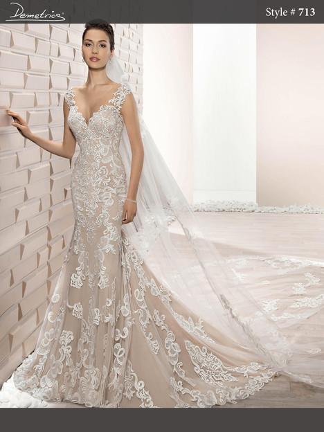 713 Wedding                                          dress by Demetrios Bride