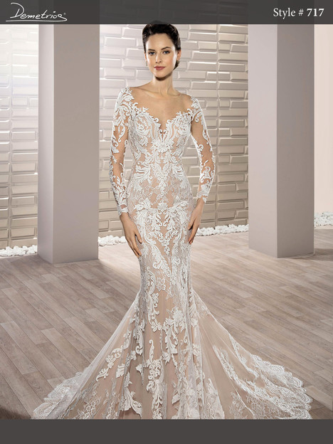717 Wedding dress by Demetrios Bride