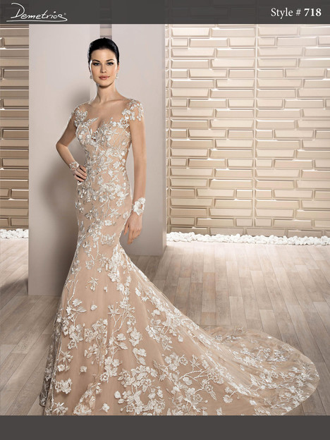 718 Wedding dress by Demetrios Bride