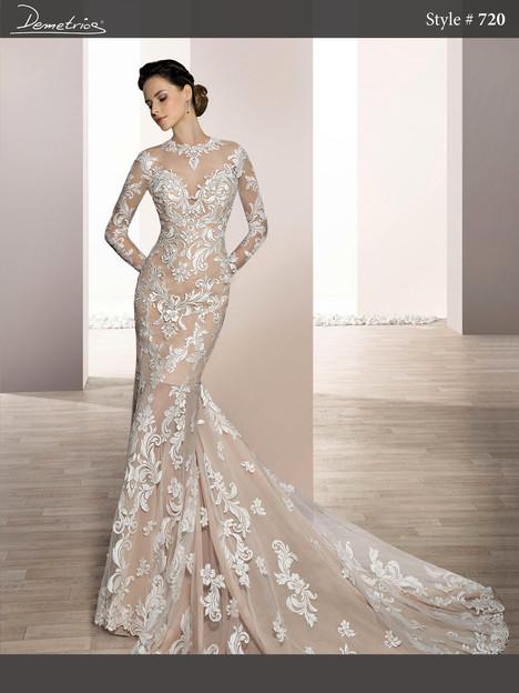 720 Wedding                                          dress by Demetrios Bride