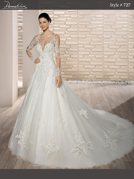 727 Wedding                                          dress by Demetrios Bride