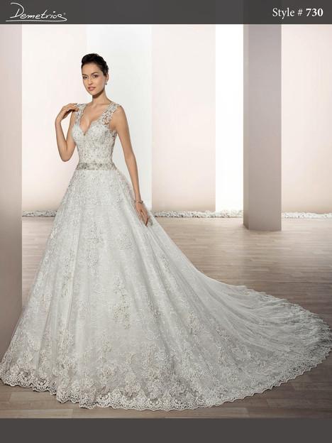 730 Wedding                                          dress by Demetrios Bride