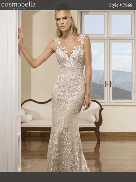 7868 Wedding                                          dress by Cosmobella