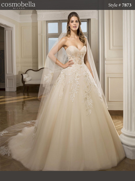 7873 Wedding                                          dress by Cosmobella