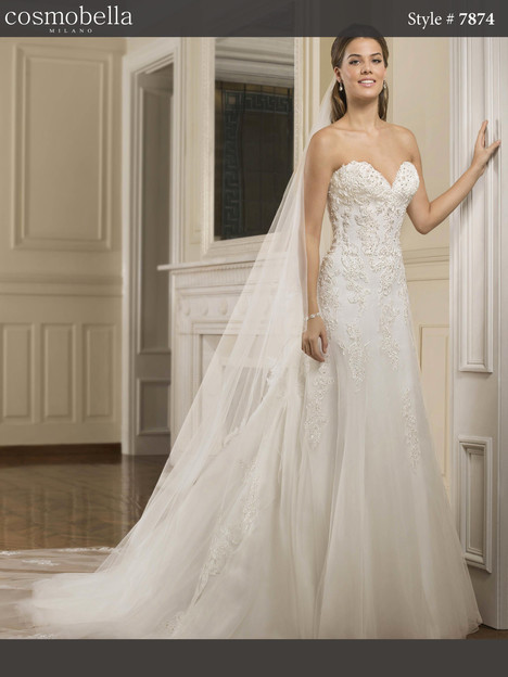 7874 Wedding                                          dress by Cosmobella