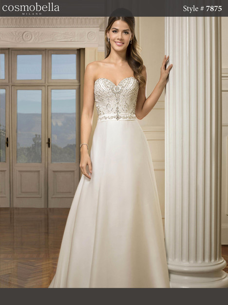 7875 Wedding                                          dress by Cosmobella