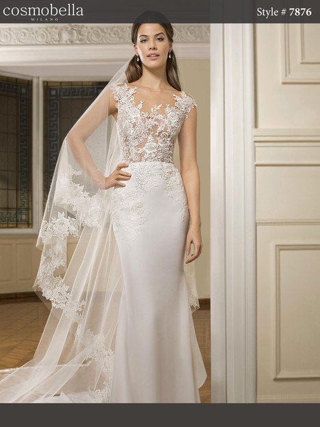 7876 Wedding                                          dress by Cosmobella