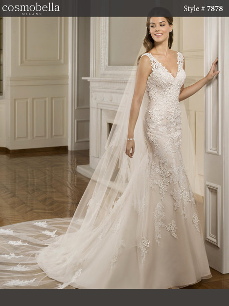 7878 gown from the 2018 Cosmobella collection, as seen on dressfinder.ca