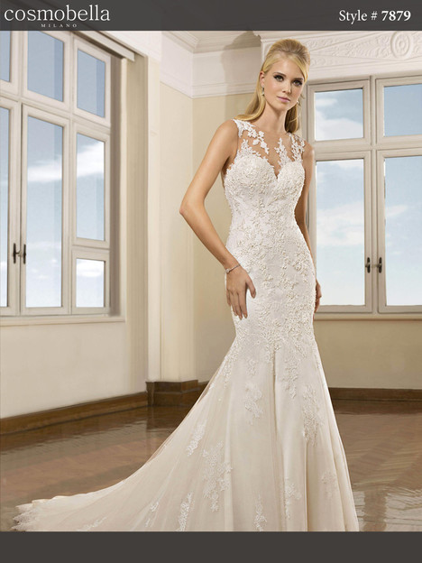 7879 gown from the 2018 Cosmobella collection, as seen on dressfinder.ca