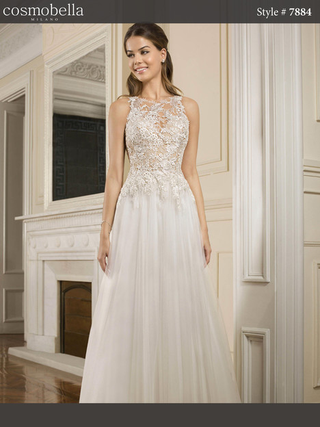 7884 Wedding                                          dress by Cosmobella