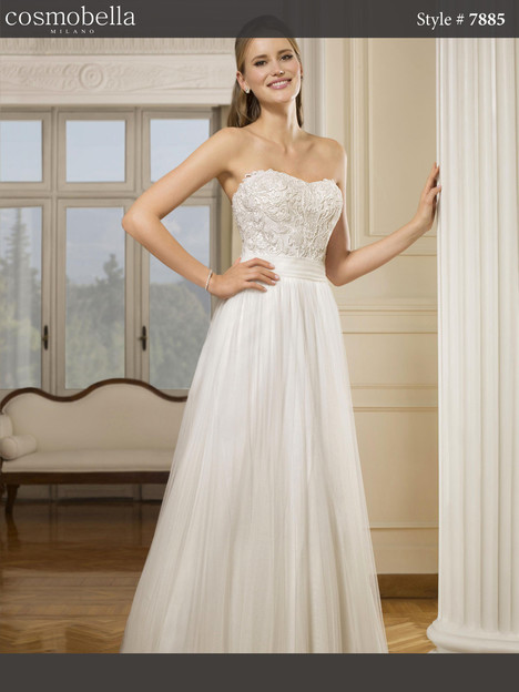 7885 gown from the 2017 Cosmobella collection, as seen on dressfinder.ca