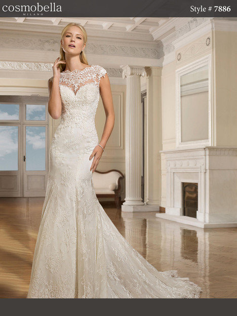 7886 Wedding                                          dress by Cosmobella
