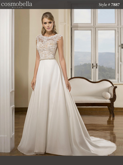 7887 Wedding                                          dress by Cosmobella