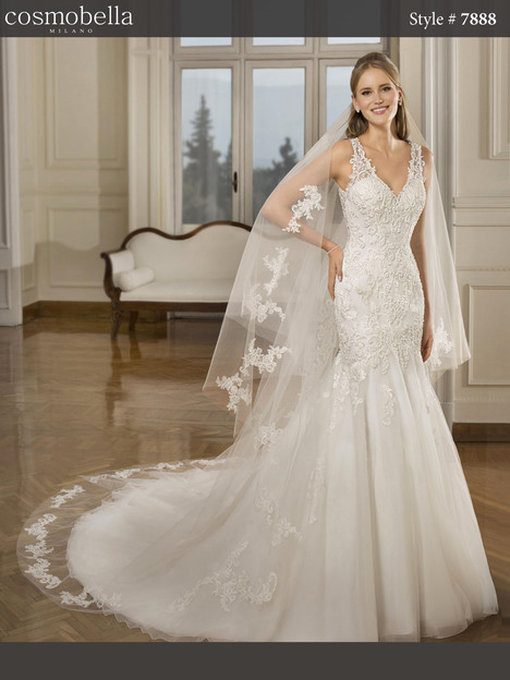 7888 Wedding                                          dress by Cosmobella