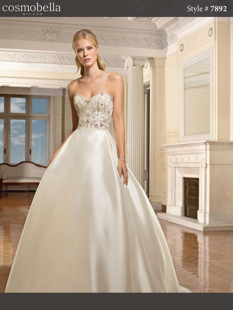 7892 Wedding                                          dress by Cosmobella