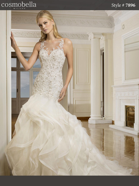7896 Wedding                                          dress by Cosmobella