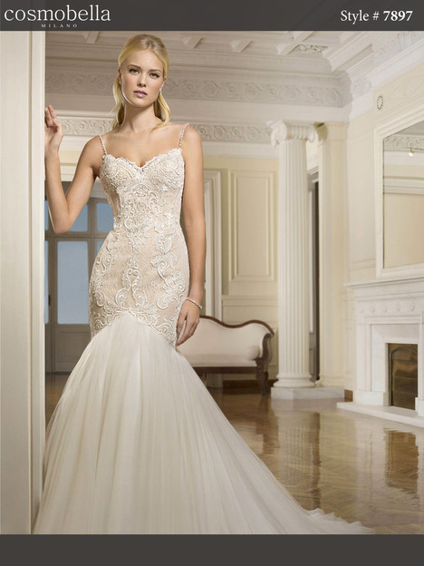 7897 Wedding                                          dress by Cosmobella