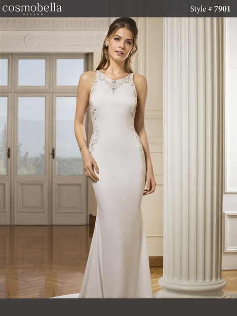 7901 Wedding                                          dress by Cosmobella