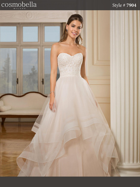 7904 Wedding                                          dress by Cosmobella