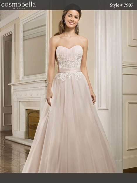 7907 Wedding                                          dress by Cosmobella