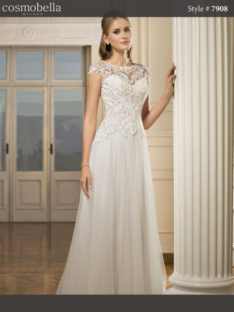 7908 Wedding                                          dress by Cosmobella