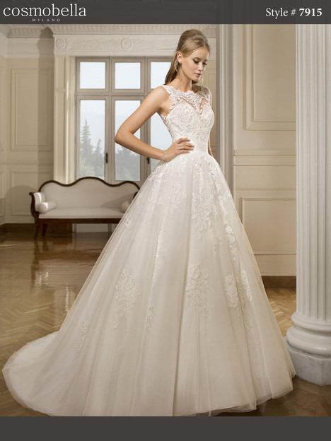 7915 Wedding                                          dress by Cosmobella