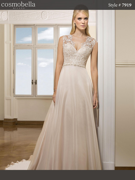 7919 gown from the 2018 Cosmobella collection, as seen on dressfinder.ca