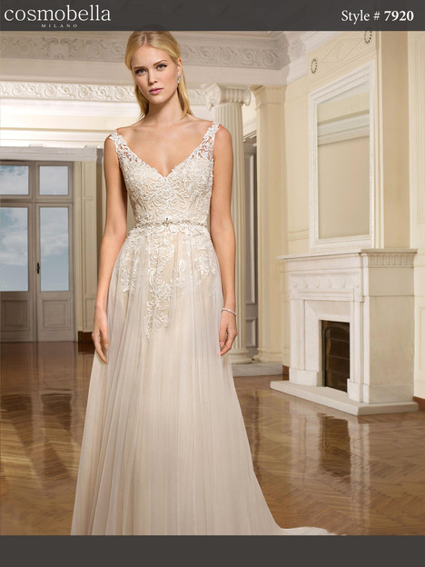 7920 gown from the 2018 Cosmobella collection, as seen on dressfinder.ca