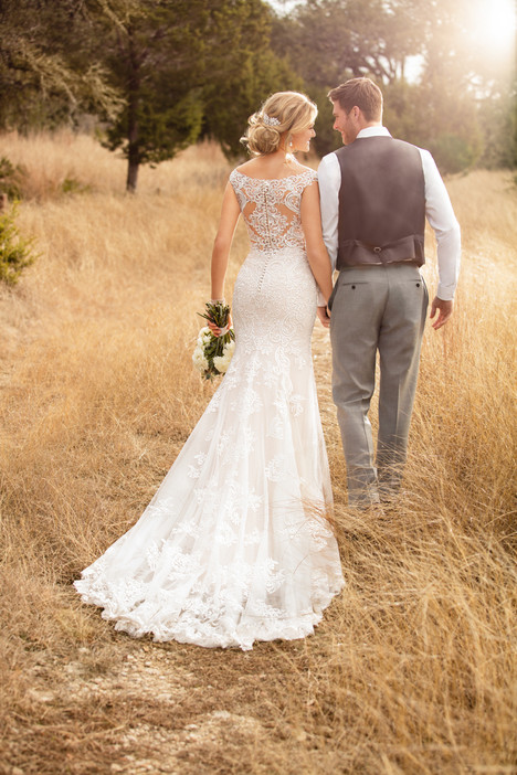 D2322 (back) Wedding                                          dress by Essense of Australia