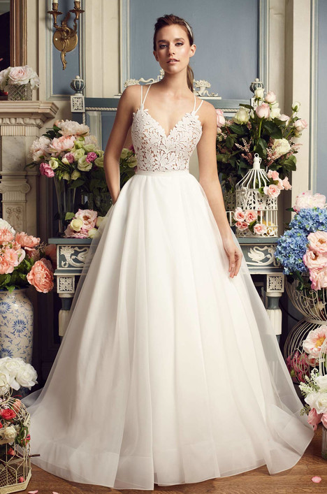 2158 Wedding                                          dress by Mikaella
