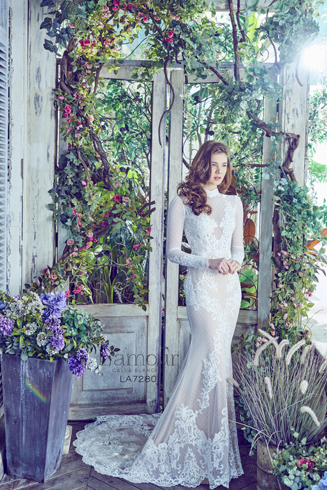 LA7280 Wedding                                          dress by L'Amour by Calla Blanche