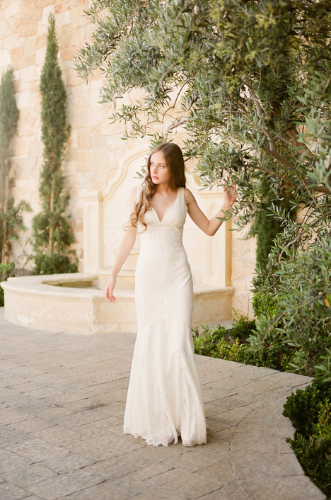 Toscana Wedding                                          dress by Claire Pettibone: Romantique